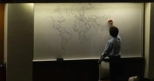 11-year-old Boy With Autism Drew The World Map Using Just His Memory