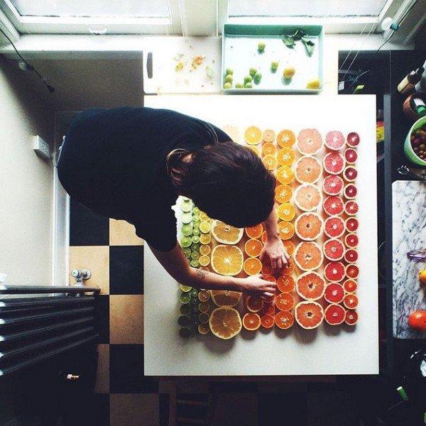 artist at work citrus