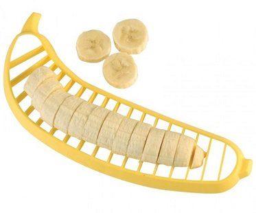 banana cutter slicer yellow