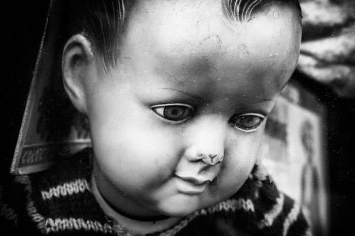 bashed nose doll