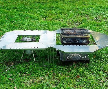 bbq dining table grill