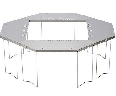 bbq dining table outdoors