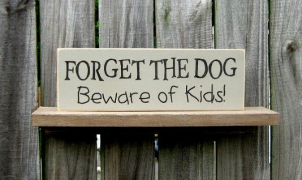 beware of kids