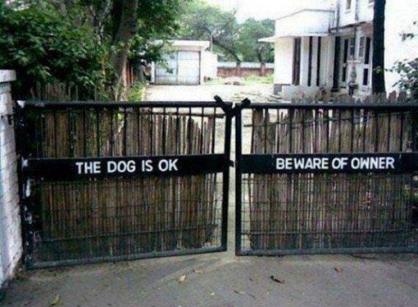 beware of owner