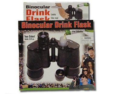binocular flask drink box