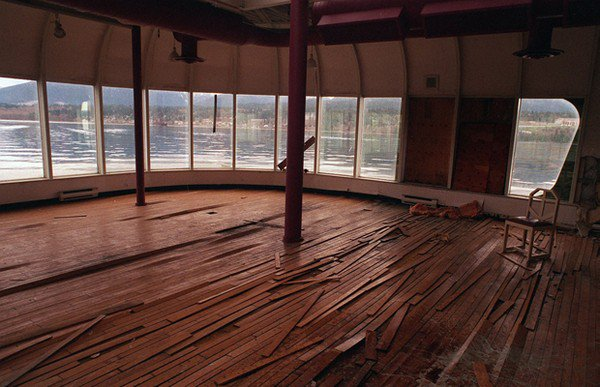 broken wooden floor mcbarge