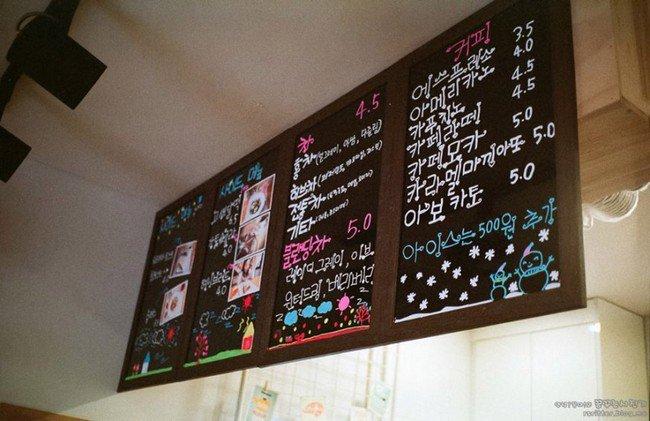 camera cafe menu