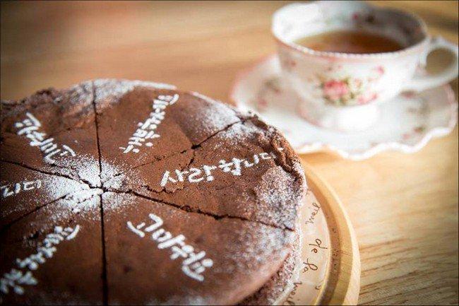 camera cafe tea cake
