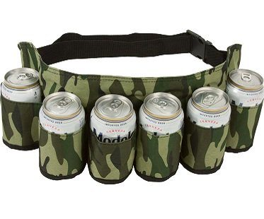 camouflage beer holster