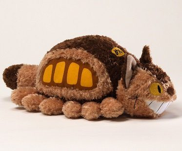 catbus plush fluffy