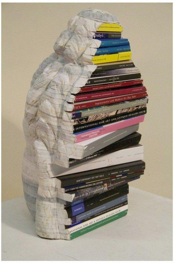chen sculpture back books