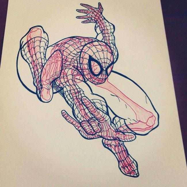 chris-panda-spiderman