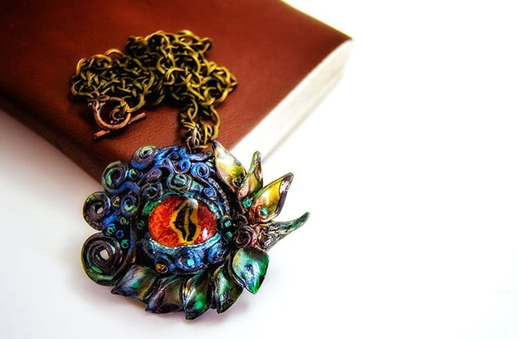Amazing Hand Made Dragon Eye Necklaces Every Dragon Fan Needs
