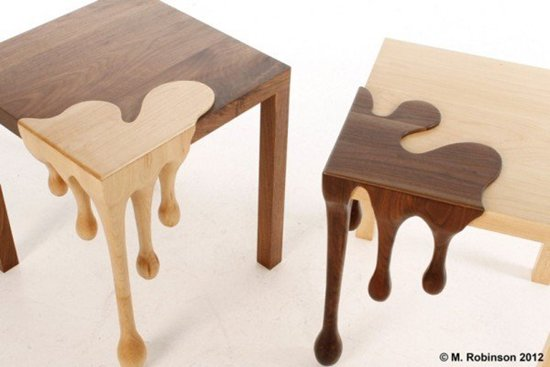 13 uniquely beautiful table and chair designs - part 2