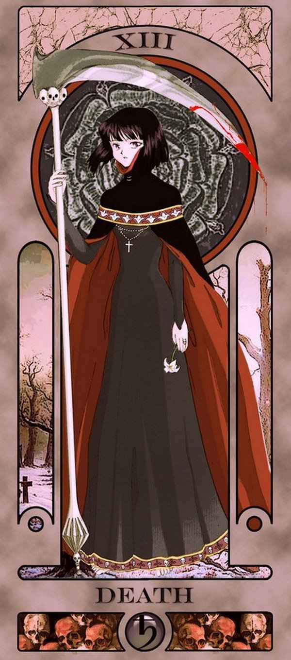 death sailor moon tarot