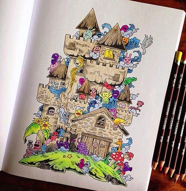 doodle-castle