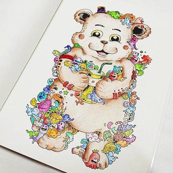 doodle-teddy