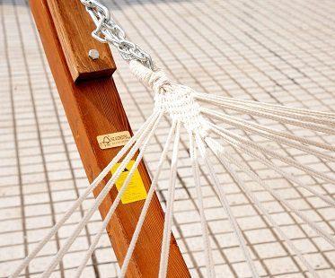 double hammock swing frame