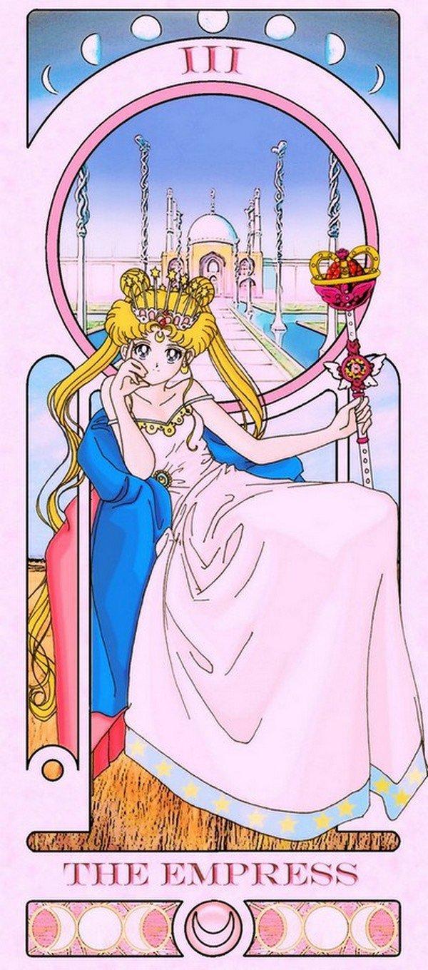 empress sailor moon tarot