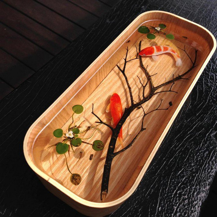 fish branch resin