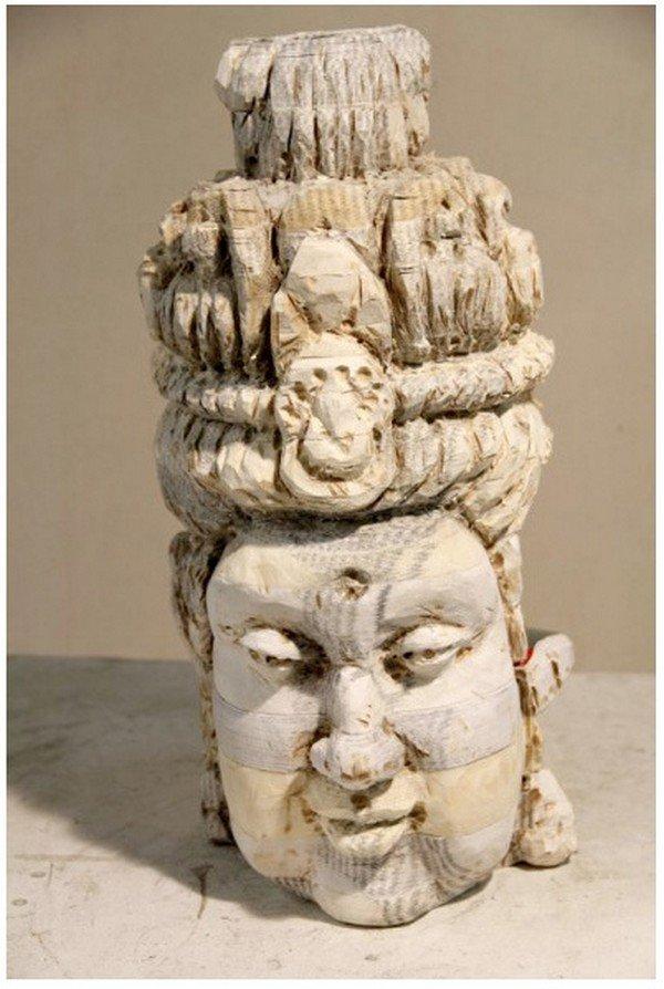 front view chen sculpture