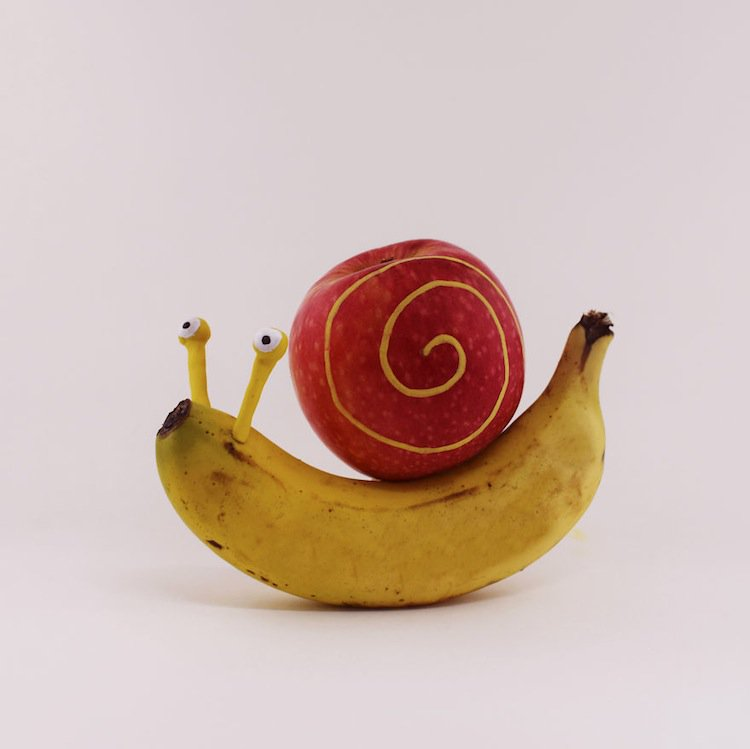 fruit-snail