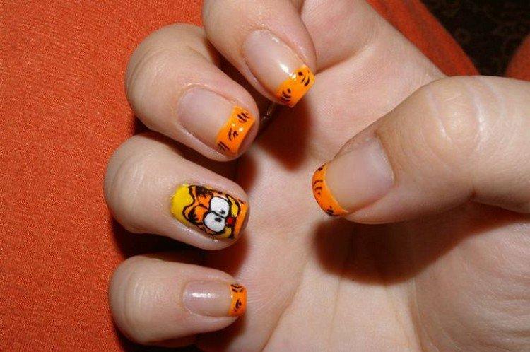 garfield nails