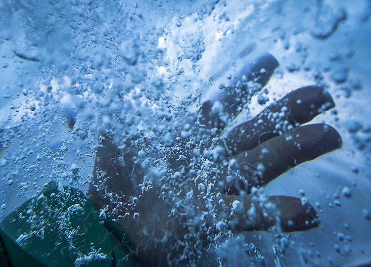 glacier hand ice