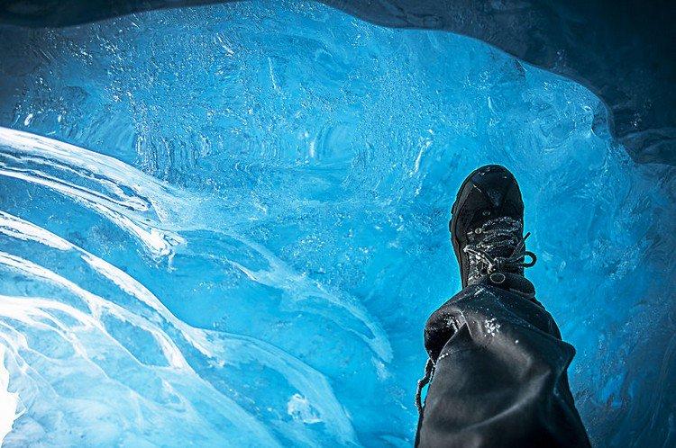 glacier ice foot