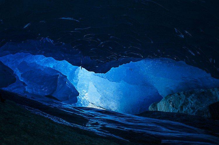 glacier inside