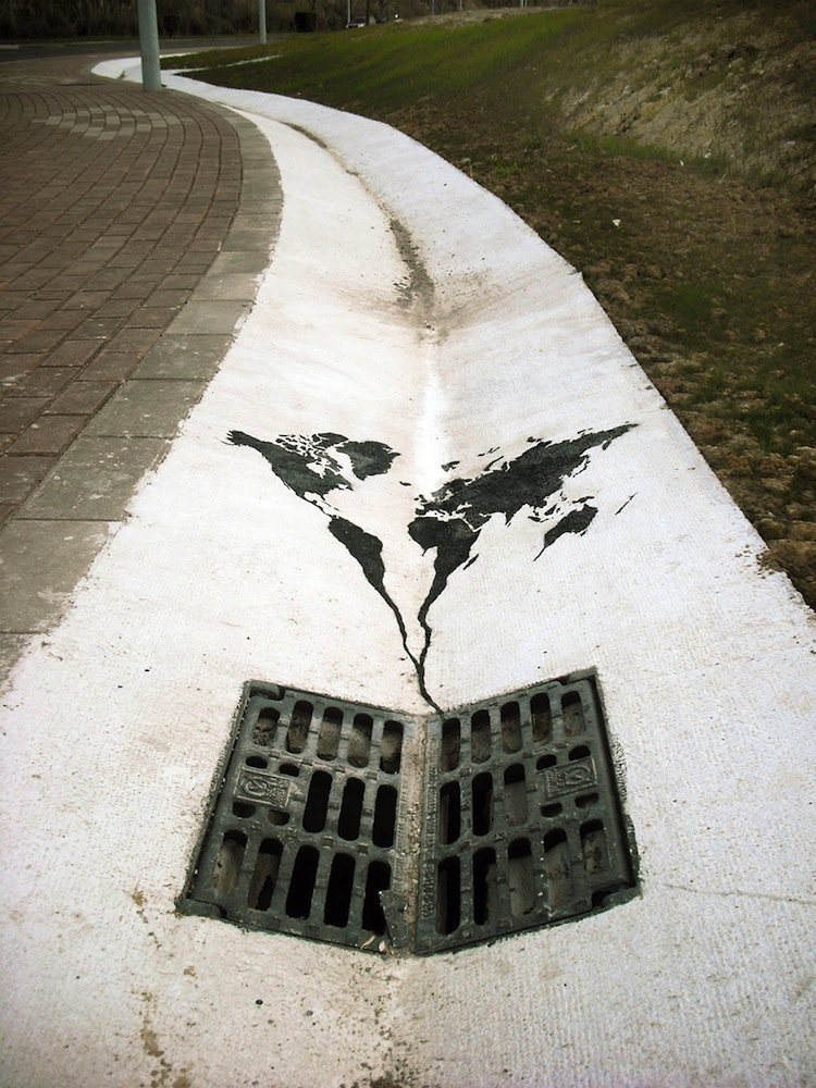 Morning Coffee: 15 Images Of Powerful Street Art With An Environmental