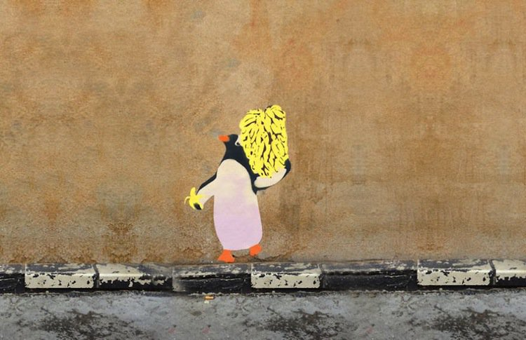 graffiti-penguin