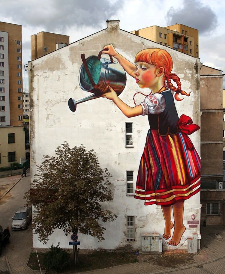 15 Images Of Powerful Street Art With An Environmental Message Part 2