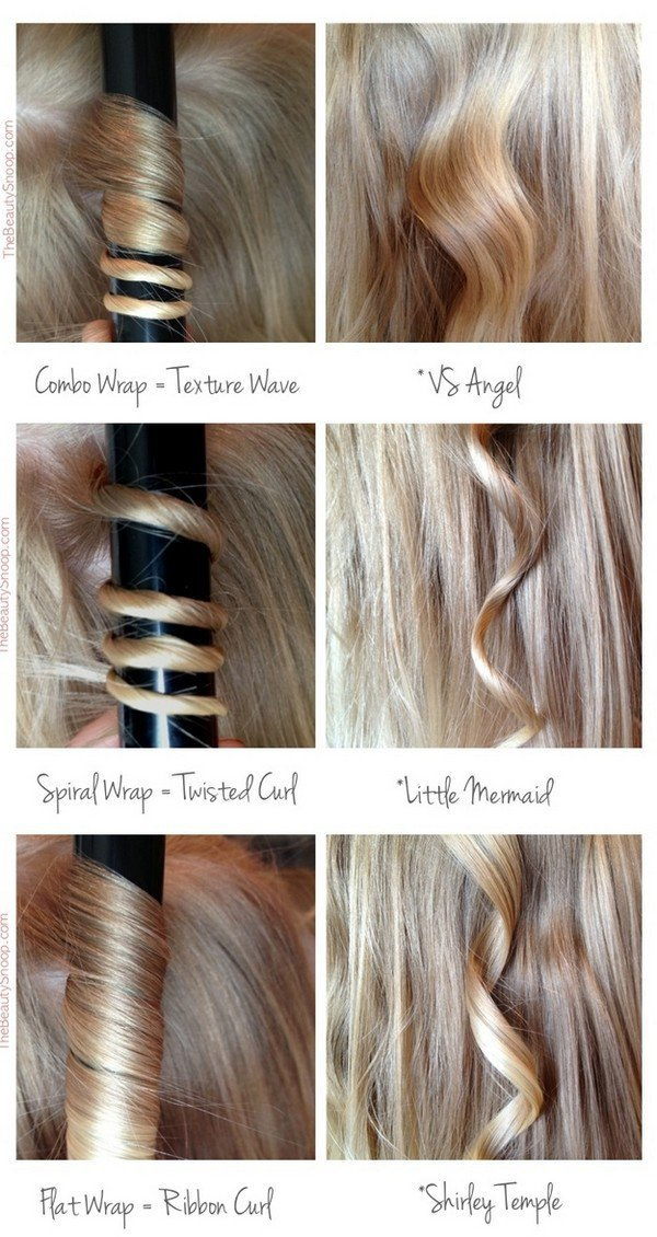 hair curling techniques