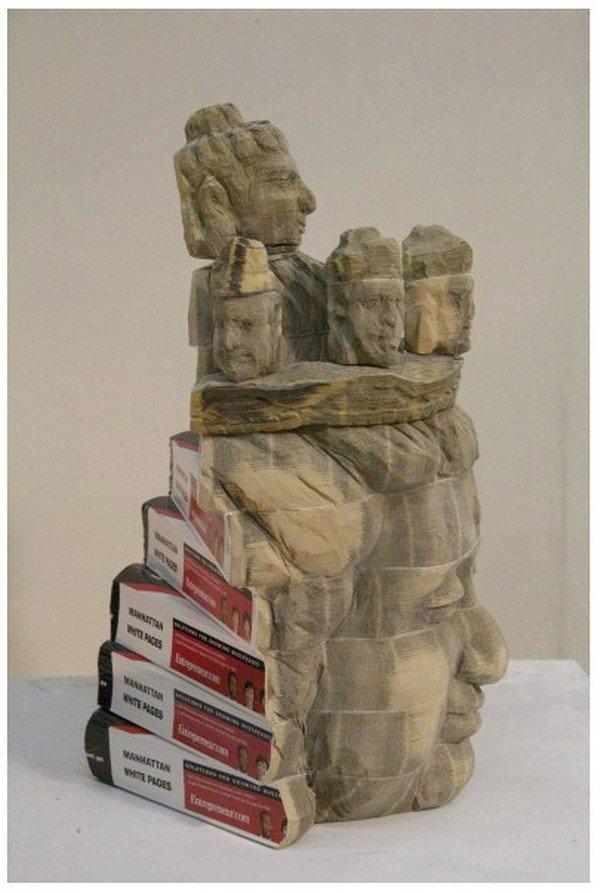 heads chen sculpture