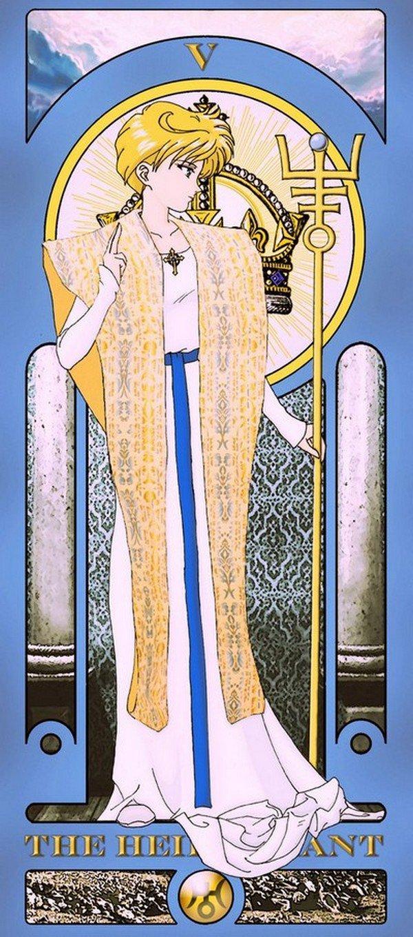 hierophant sailor moon tarot