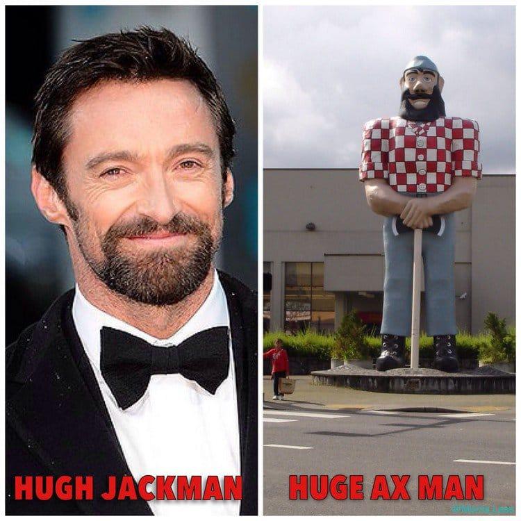 hugh jackman huge ax man