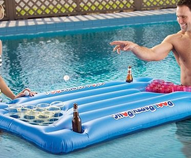 Inflatable beer pong - Matelas gonflable medical ...