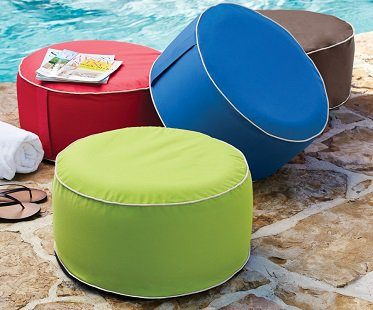 inflatable ottoman outdoor