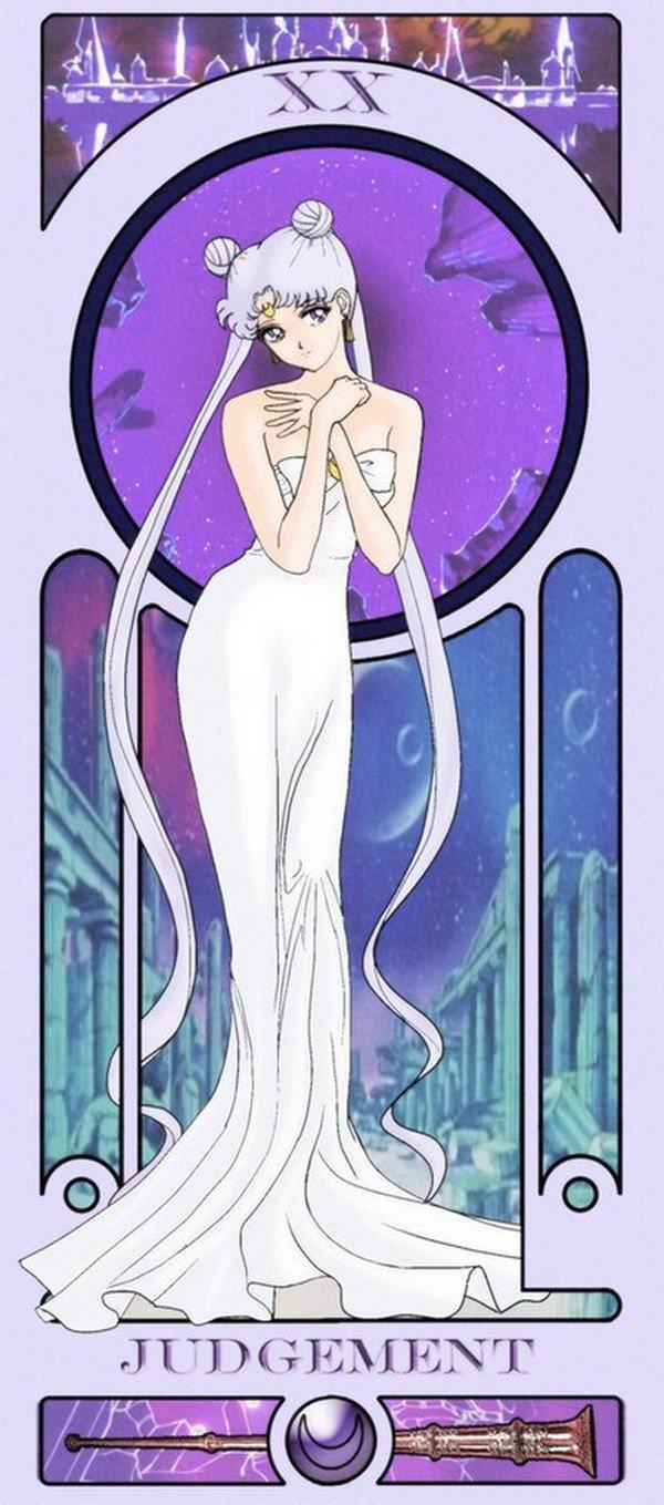 judgement sailor moon tarot