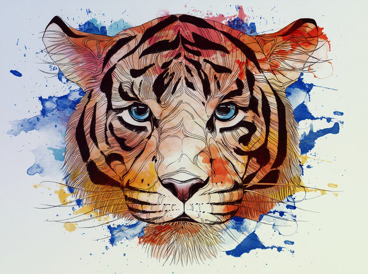 artist alexandra laza creates magical animal