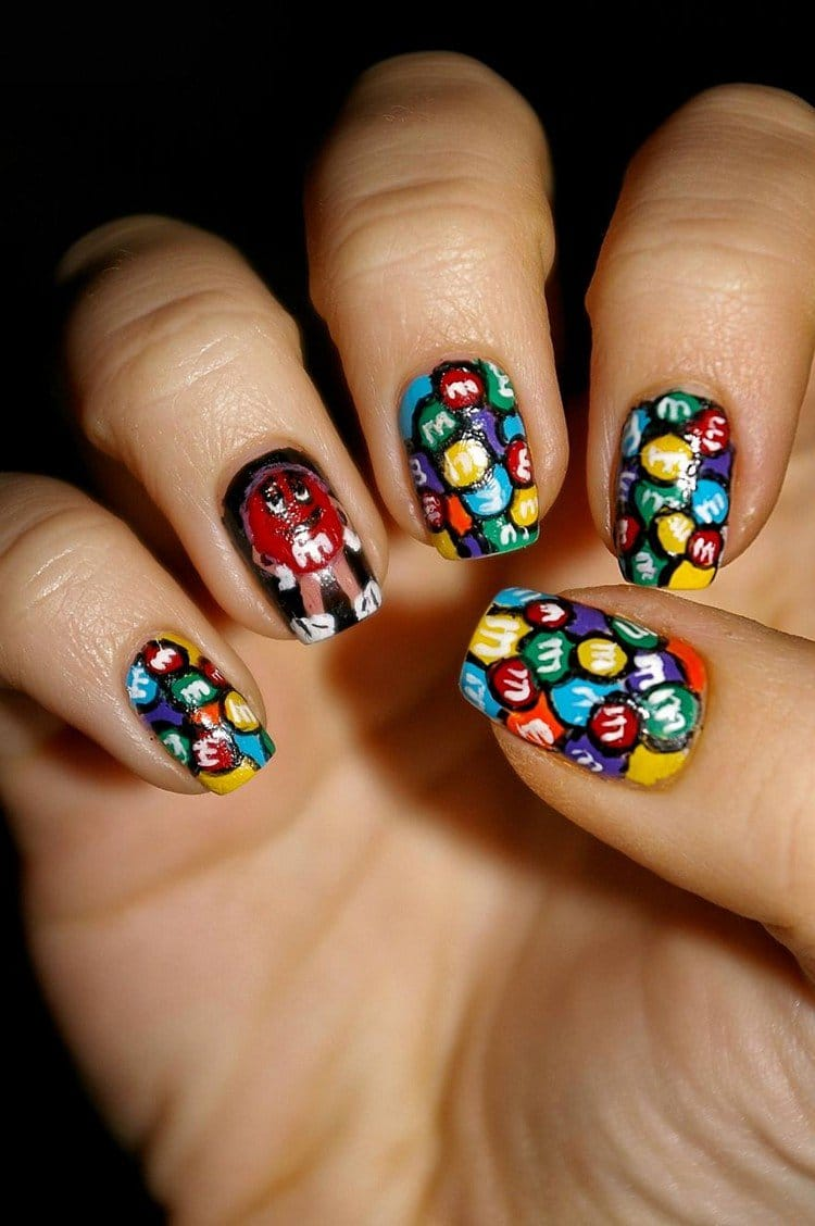 m and m nails