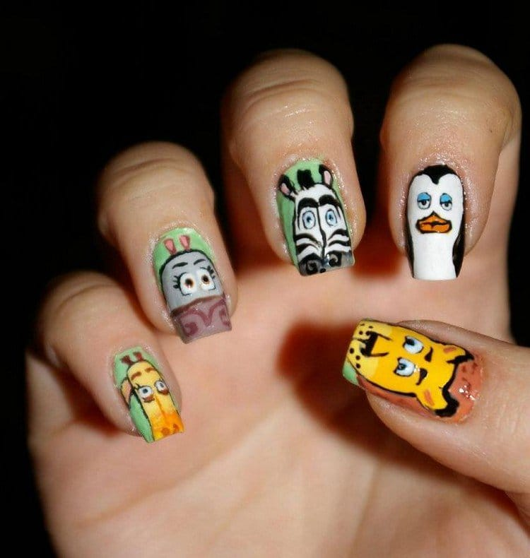 madagascar nails
