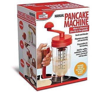 manual pancake machine box