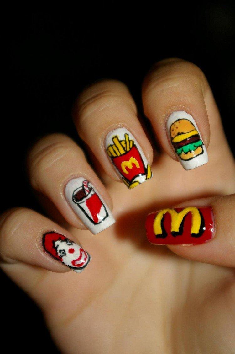 mcdonalds nails
