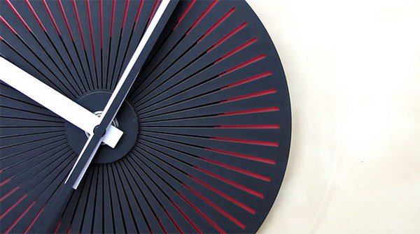 These Awesome Optical Illusion Wall Clocks Show Changing