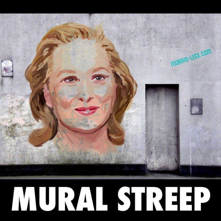 mural streep