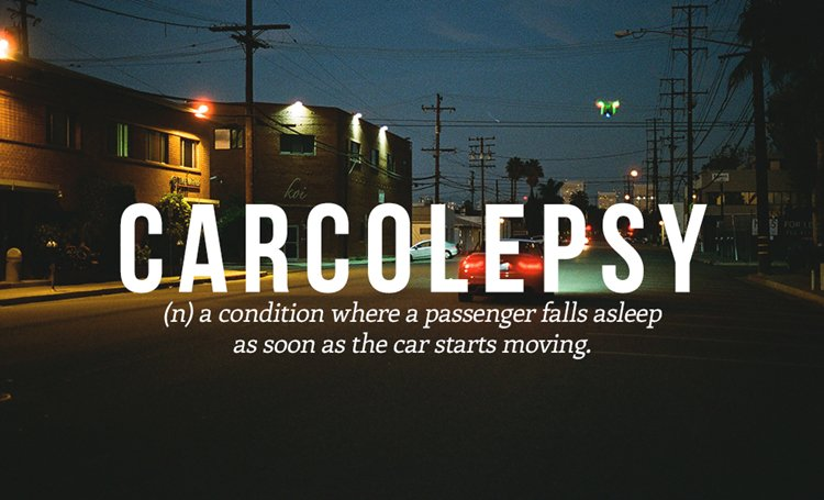 new-words-carcolepsy