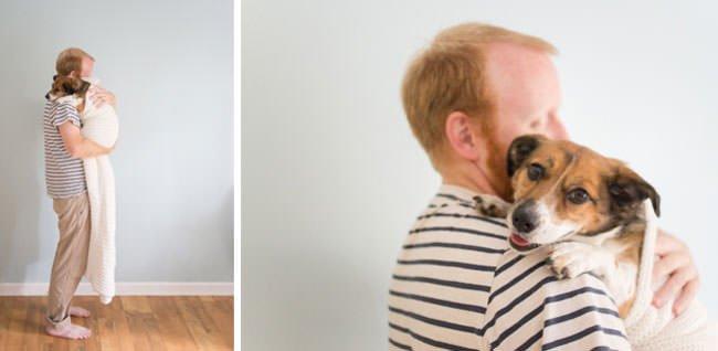 newborn-photo-shoot-with-dog-dad
