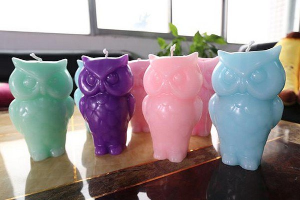 owl candles group